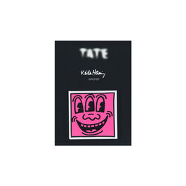 Keith Haring Face magnet