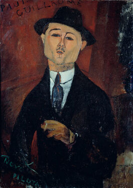 Modigliani: Portrait of Paul Guillaume