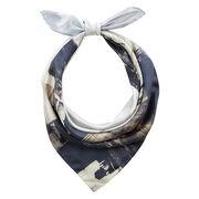 Almanac silk scarf