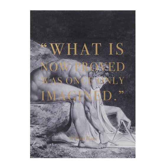 William Blake Imagined screenprint