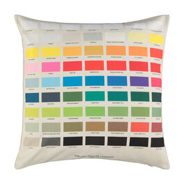 The Colours of London cushion cover
