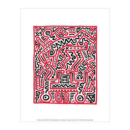 Keith Haring: Fun Gallery mini print