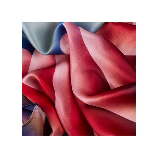 Judy Chicago Through the Flower silk scarf