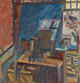 Frank Auerbach: In the Studio IV