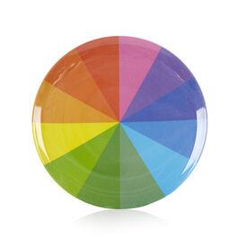 Colour wheel plastic plate