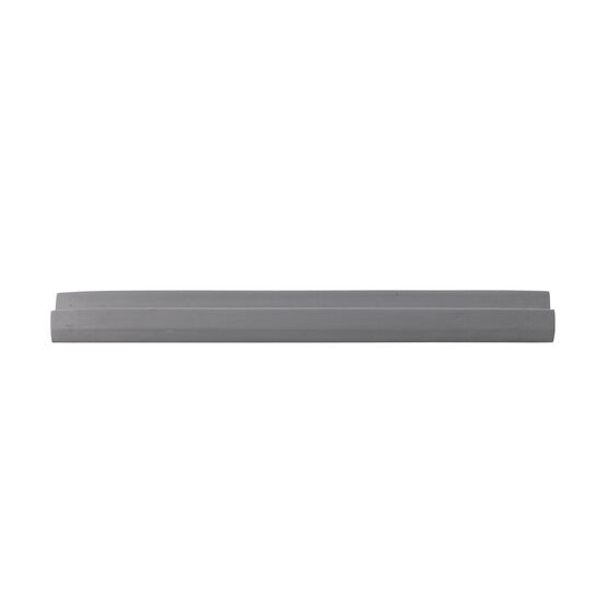 Grey concrete incense holder