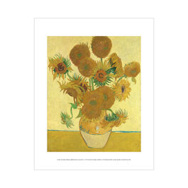 Vincent van Gogh: Sunflowers mini print