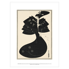 Aubrey Beardsley: The Black Cape exhibition print