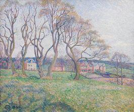 Lucien Pissarro: April, Epping