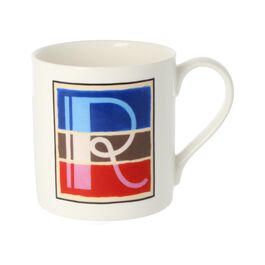Alphabet of art mug - R
