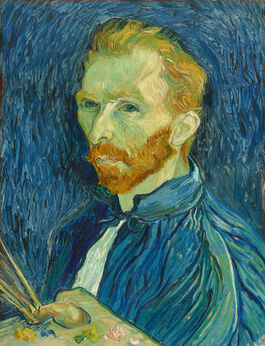 Vincent van Gogh: Self Portrait, autumn 1889