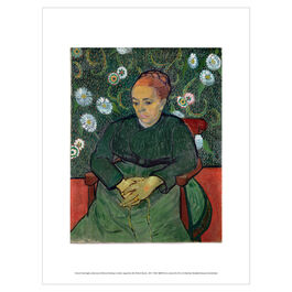Vincent van Gogh: La Berceuse exhibition print