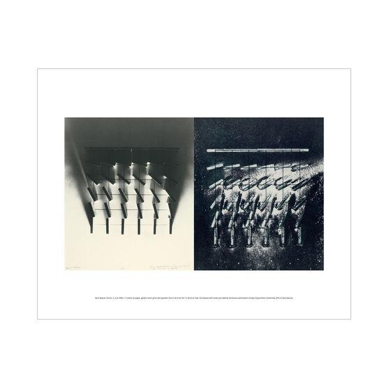 Dóra Maurer: Sluices 3, A+B mini print