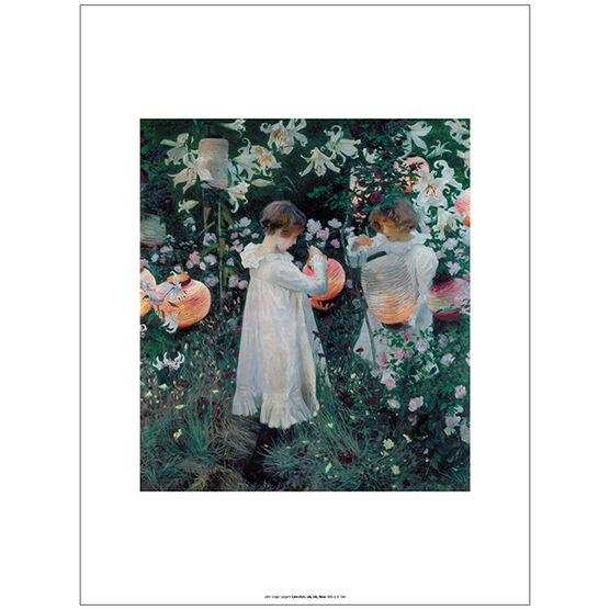 Sargent: Carnation, Lily, Lily, Rose unframed print
