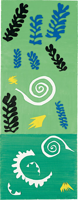 Matisse: Composition on a Green Ground