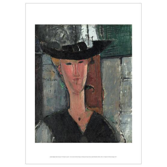 Modigliani Madam Pompadour (poster)