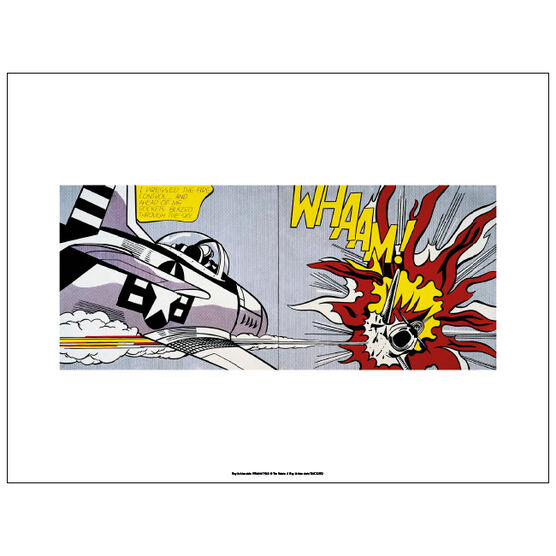 Lichtenstein Whaam! (unframed print)