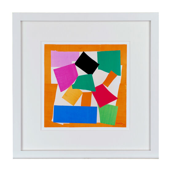 Matisse The Snail (framed print)