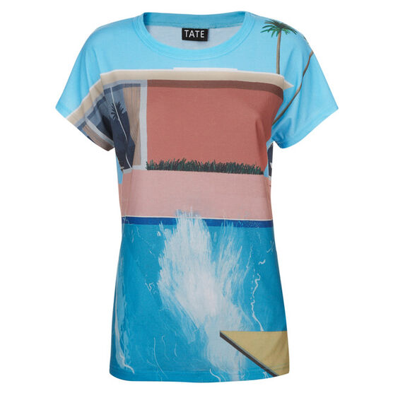 Hockney A Bigger Splash women's t-shirt