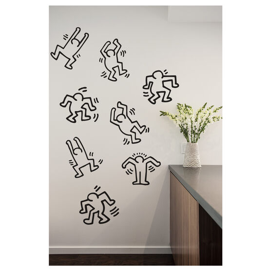 Keith Haring Dancers wall stickers