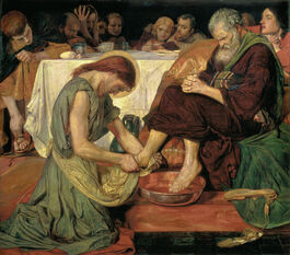 Ford Madox Brown: Jesus Washing Peter's Feet