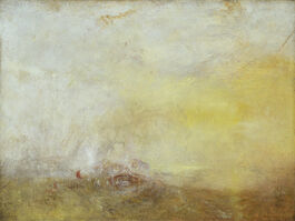 Turner: Sunrise with Sea Monsters