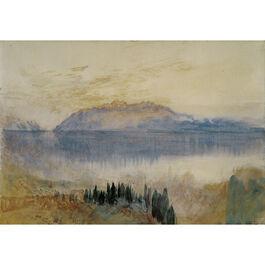 Turner: Lake Geneva, with the Dent d'Oche