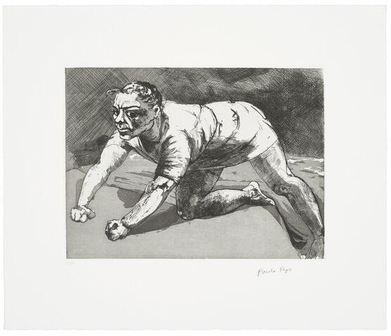 Paula Rego, Wary (Dog Woman), 1994/2020 limited edition