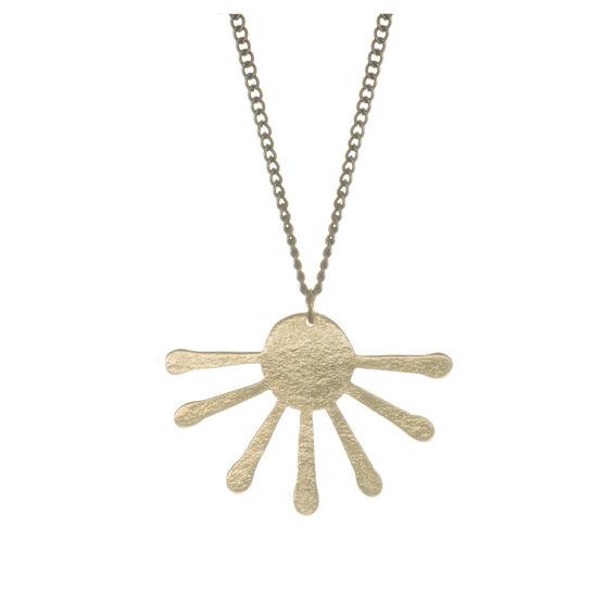 Inca Sun Burst Pendant