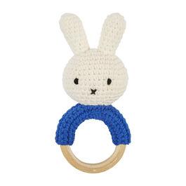 Miffy blue handmade teether