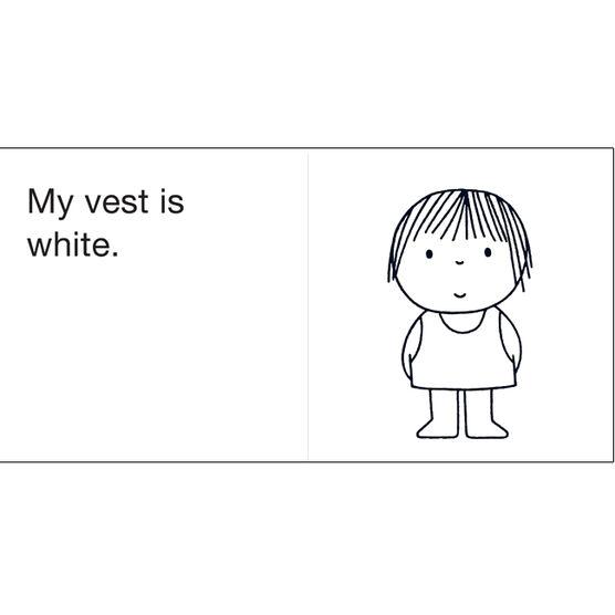 My Vest is White