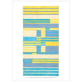Anni Albers Design for a tapestry poster
