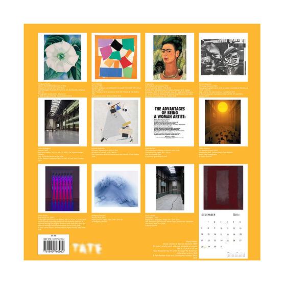 Tate Modern 2020 calendar