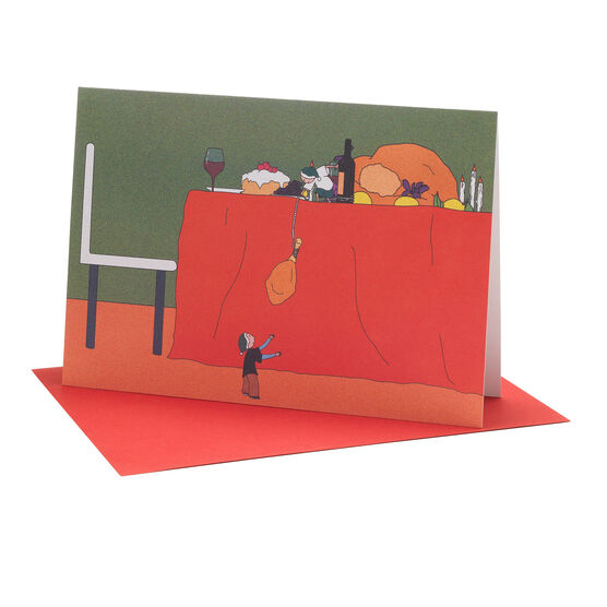Youjia Duan: The Christmas Thief Christmas cards (pack of 6)