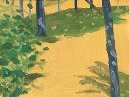 Alex Katz: Green Shadow #2