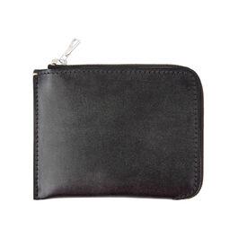 Margaret Howell half zip leather wallet