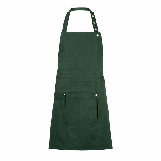 Organic cotton green apron
