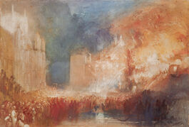 Turner: The Burning of the Houses of Parliament
