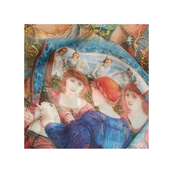Edward Burne-Jones Laus Veneris silk scarf