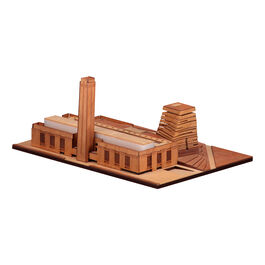 Tate Modern architectural model kit