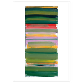 Patrick Heron: Green and Mauve Horizontals : January 1958 poster