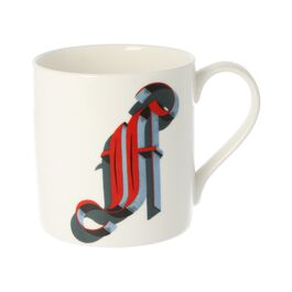 Alphabet of art mug - F