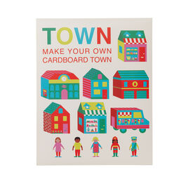 Make Your Own Cardboard Town kit