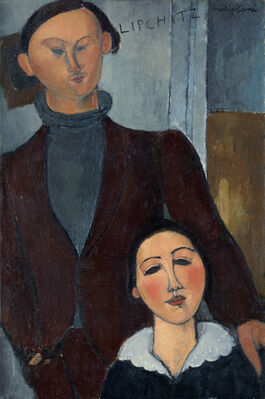 Modigliani: Jacques and Berthe Lipchitz