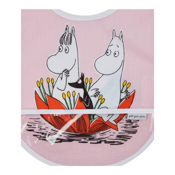 Pink Moomin bib
