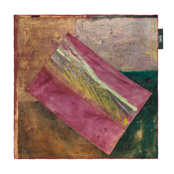 Frank Bowling Wadi √ Two limited edition pocket square