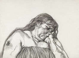 Lucian Freud: Woman with an Arm Tattoo