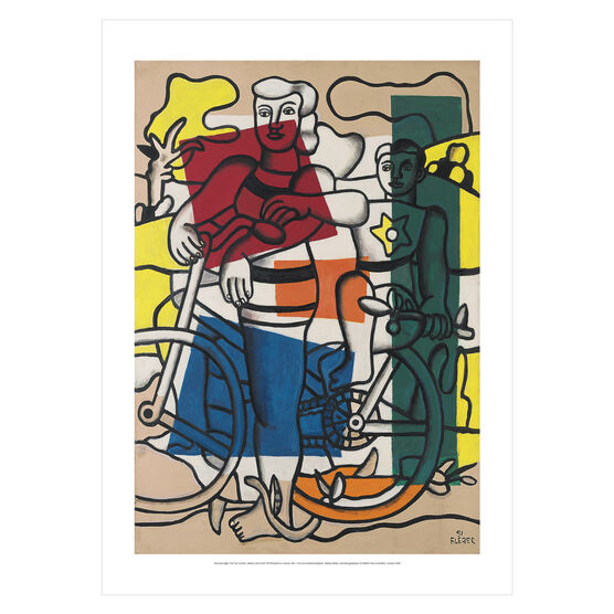 Fernand Léger: The Two Cyclists, Mother and Child poster