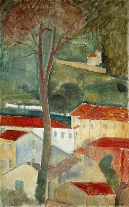Modigliani: Cagnes Landscape