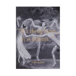 William Blake Infinite screenprint